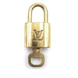 Gold Lock Keepall Speedy Alma #335 Bag